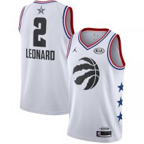Toronto Raptors Kawhi Leonard White 2019 NBA All-Star Jersey