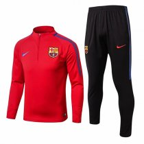 1718 Barcelona Red Soccer Training suit