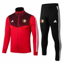 19-20 Feyenoord Red High Neck Jacket Kit