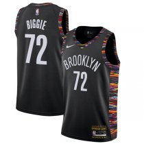 Brooklyn Nets Biggie Swingman Black Jersey – City Edition