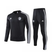 19-20 Belgium Black Round Neck Training Suit