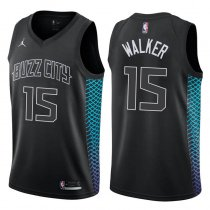 Charlotte Hornets Kemba Walker City Edition Black Jersey