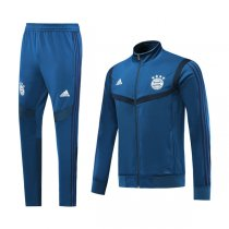19-20 Bayern Munich Navy High Neck Jacket Kit