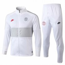 19-20 PSG All White High Neck Jacket Kit