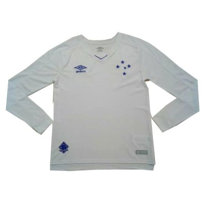 2019-2020 Cruzeiro Away Long sleeve Soccer Jersey Shirt
