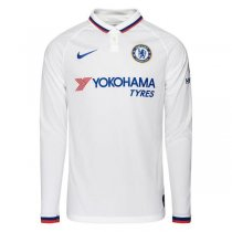 19-20 Chelsea Away Long Sleeve Soccer Jersey