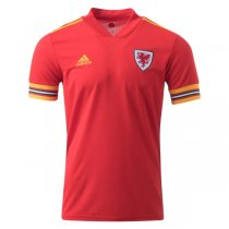 2020 Euro Cup Wales Home Soccer Jersey Shirt
