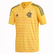 1819 CR Flamengo Yellow GoalKeeper Soccer Jersey