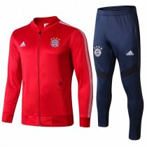 19-20 Bayern Munich V-Neck Red Jacket Kit