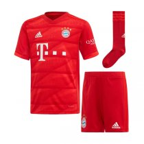19-20 FC Bayern Munich Home Kids Full Kit