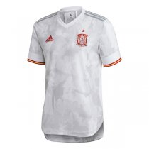 2020 Spain Away Authentic Soccer Jersey (Player Version)