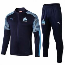 19-20 Marseille Navy Zebra Sleeve Jacket Kit