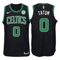 2017-2018 Boston Celtics Jayson Tatum Mindset Black Jersey