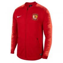 2019 Guangzhou Evergrande F.C Red Sleeve Jacket