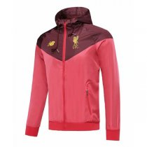 19-20 Liverpool Red Hoodie Windbreaker