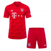 19-20 FC Bayern Munich Home Jersey Men's Kit(Shirt+Short)