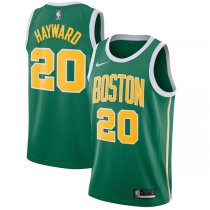 2018-2019 Boston Celtics Gordon Hayward Green Swingman Jersey Earned Edition