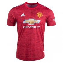20-21 Manchester United Home Authentic Jersey (Player Version)