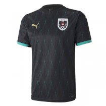 2020 Austria Away Black Soccer Jersey Shirt