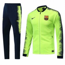 1819 Barcelona Fluorescent Green Training Jacket Kit