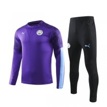 19-20 Manchester City Purple Training Suit