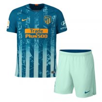 1819 Atletico Madrid Third Soccer Jersey Kit(Shirt+Short)