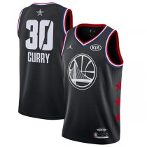 2019 All star Jordan Golden State Warrior #30 Stephen Curry Jersey Black