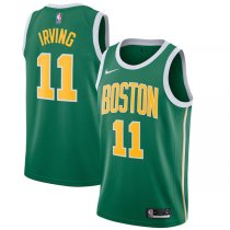 2018-2019 Boston Celtics Kyrie Irving Green NBA Swingman Earned Edition Jersey
