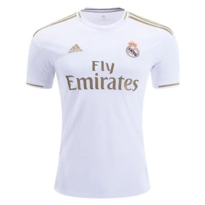 19-20 Real Madrid Home White Soccer Jersey