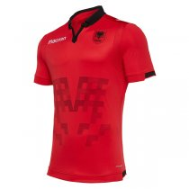 2019-2020 Albania Home Red Soccer Jersey Shirt
