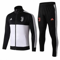 19-20 Juventus Black&White High Neck Jacket Kit