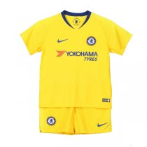 1819 Chelsea Away Soccer Jersey Kid Kit