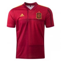 2020 Euro Cup Spain Home Soccer Jersey Shirt