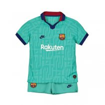 19-20 Barcelona Third Soccer Jersey Kids Kit