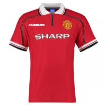 1998-2000 Manchester United Home Retro Jersey