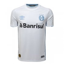 19-20 Gremio Away Soccer Jersey Shirt White