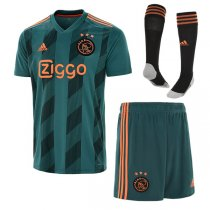 19-20 Ajax Away Soccer Jersey Men Full Kit (Shirt+Short+Sock)