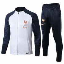 19-20 France White Sleeve Navy Jacket Kit