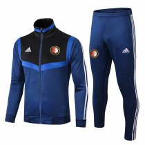 19-20 Feyenoord Blue High Neck Jacket Kit