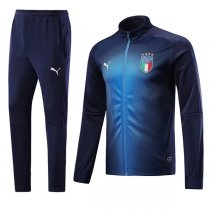 2018 Italy Navy blueTraining Kit(Jacket+Trouser)