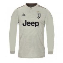 1819 Juventus Away Long Sleeve Soccer Jersey