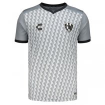 2019-2020 Club de Cuervos Charly Away Gray Soccer Jersey Shirt