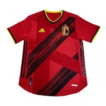 2020 Euro Cup Belgium Home Authentic Soccer Jersey Shirt (Player Version)
