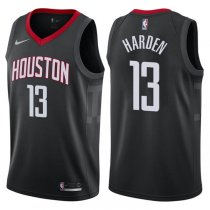2017-18 Rockets James Harden Statement Black Jersey