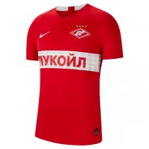 19-20 Spartak Moscow Home Red Soccer Jersey Shirt