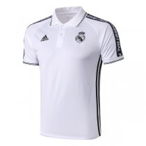2019 Real Madrid White Polo Shirt