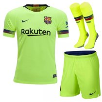 1819 Barcelona Away Soccer Jersey Full Kit