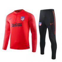 19-20 Atletico Madrid Red Training Suit