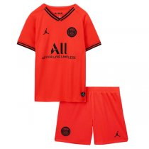19-20 PSG Away Soccer Jersey Kid Kit