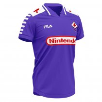 1998-1999 Fiorentina Home Retro Jersey Shirt